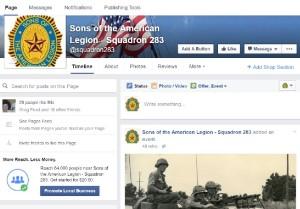 283 Facebook Page